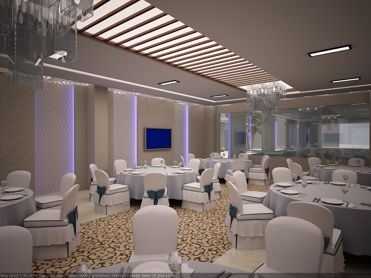 Nhà hàng tiệc cưới âu cơ - Sảnh tiệc