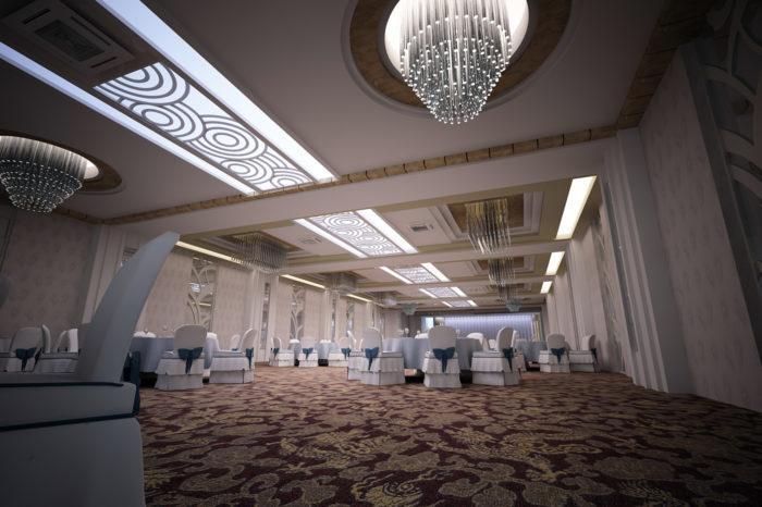 Nhà hàng tiệc cưới Âu Cơ -Sảnh tiệc
