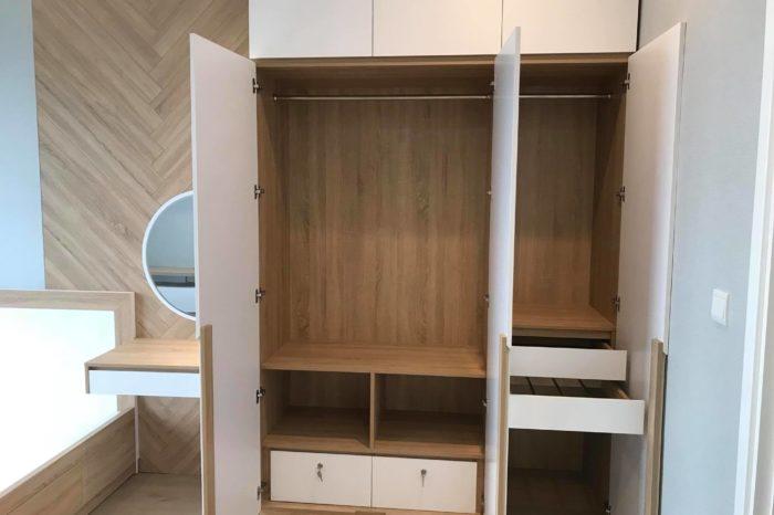 Nội thất gỗ căn hộ vincity