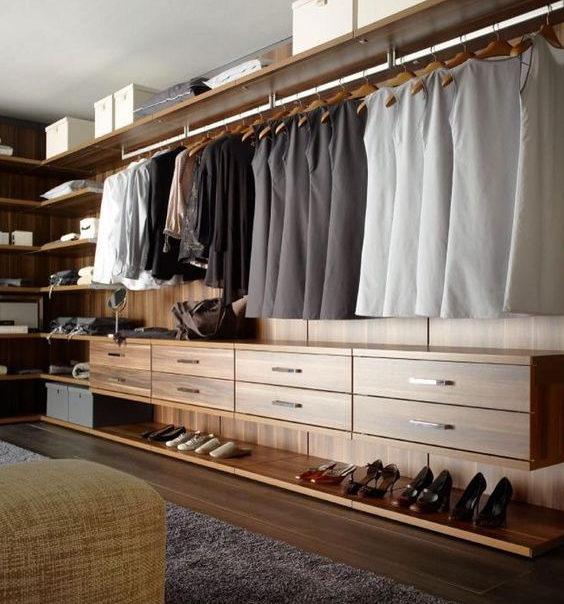 Các mẫu tủ áo được thiết kế theo phong cách hiện đại