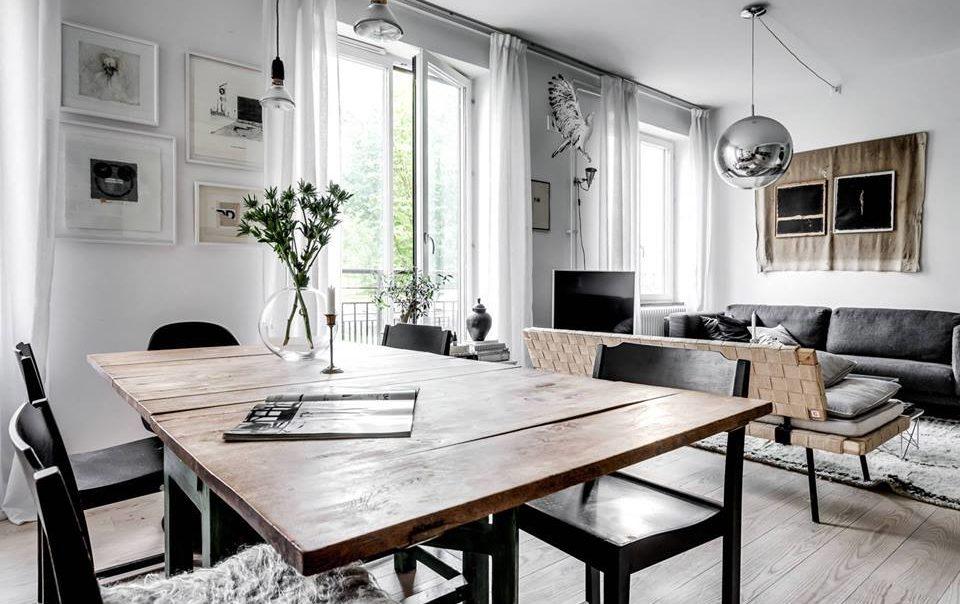 Thiết kế nội thất nhà ở phong cách bắc âu scandinavi