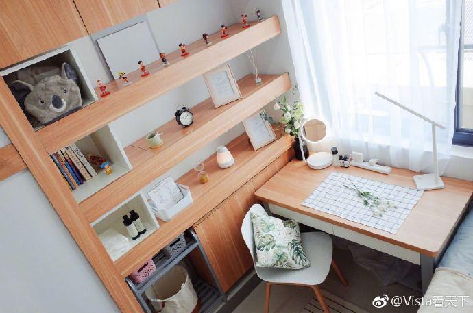 Căn phòng ký túc xá gây sốt MXH Trung Quốc vì quá xinh xắn