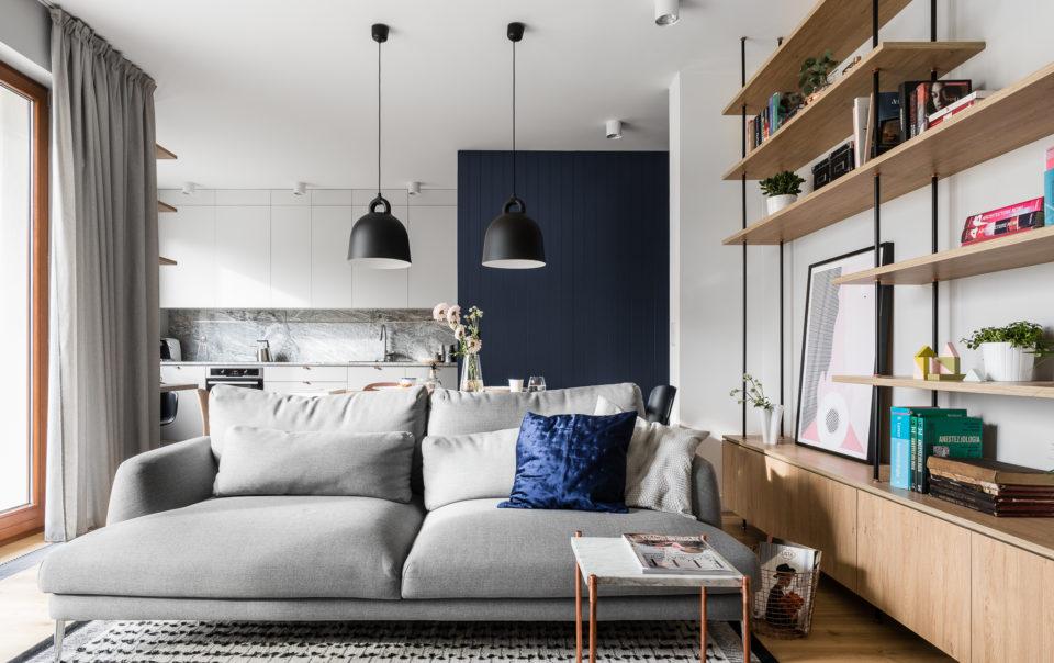thiết kế nội thất căn hộ phong cách scandinavy