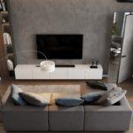 Mẫu thiết kế nội thất phòng khách hiện đại năm 2019